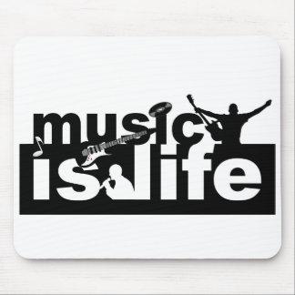 Music is life mousepad - customize!