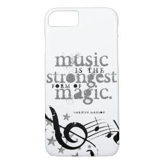 Music is magic! iPhone 7 case