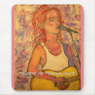 music is moonlight mouse pad
