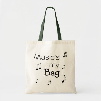 Music is my Bag funny pun
