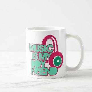 Music is my Boyfriend Classic White Coffee Mug