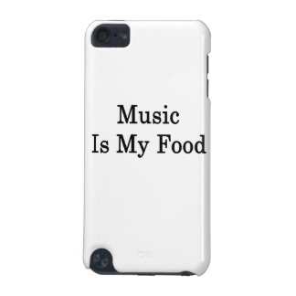 Music Is My Food iPod Touch 5G Cases