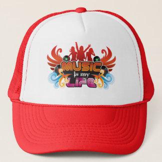 music is my life line trucker hat