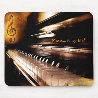 Music is my life! mouse pad