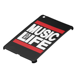 Music is my life Red iPad Mini Cover