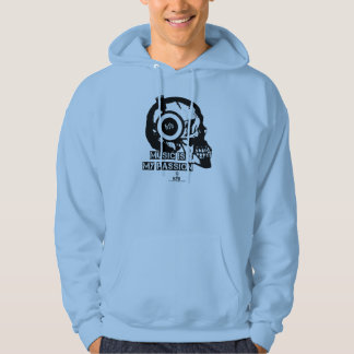 Music is my passion sweatshirt à capuche