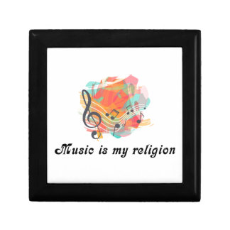 Music is my religion gift box