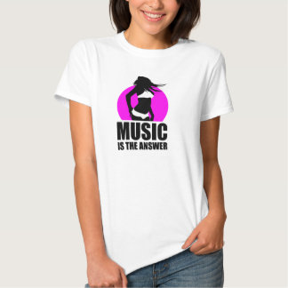 music is the answer t shirt