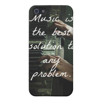 Music is the best solution to any problem case for the iPhone 5