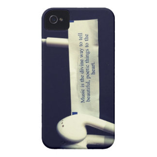 Music is the divine way... iPhone 4 cover