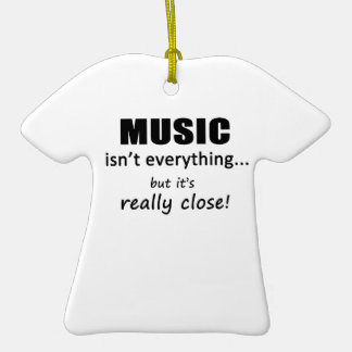 Music Isn t Everything Christmas Ornaments
