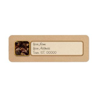 Music - Jam Session 1918 Return Address Label