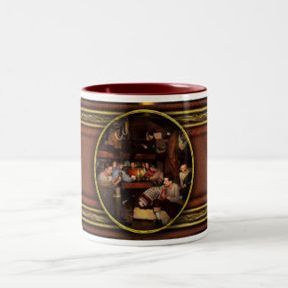 Music - Jam Session 1918 Two-Tone Coffee Mug
