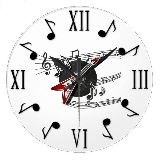 Music Large Clock