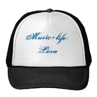 Music+life=Love Trucker Hat