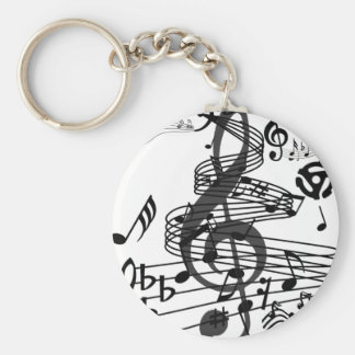 Music Lives,Live it _ Keychain