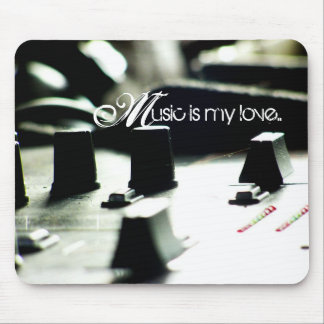 Music Love Mixer Mousepad