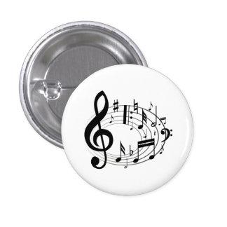 Music Lover 1 Inch Round Button