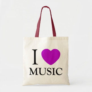 Music Lover_ Budget Tote Bag