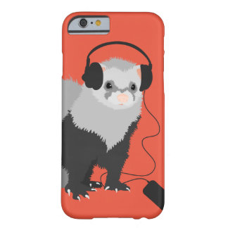Music Lover Ferret Barely There iPhone 6 Case
