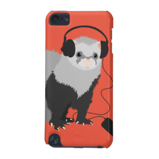 Music Lover Ferret iPod Touch 5G Covers