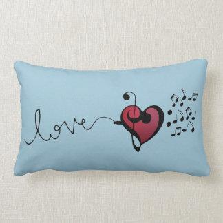 Music Lover Lumbar Pillow