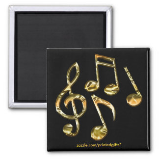MUSIC LOVER Music Note Magnets