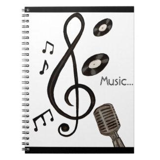 Music Lover Spiral Notebook