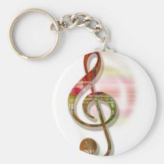 Music Lovers 2 Keychain