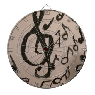 Music Lovers Delight Dartboard