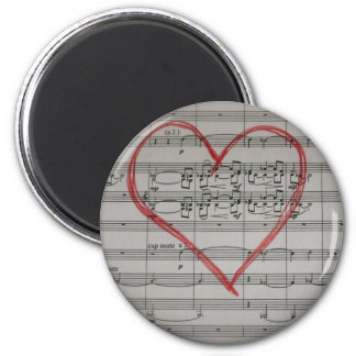Music Lovers magnet
