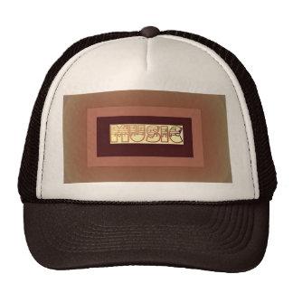 MUSIC LOVERS PEAK CAP TRUCKER HAT