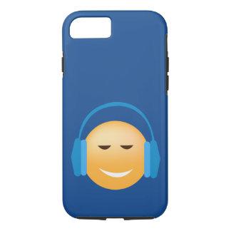 Music Loving Emoji iPhone Case