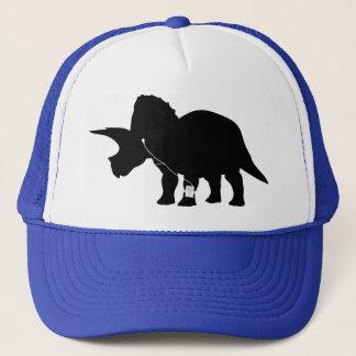 Music loving Triceratops design Trucker Hat