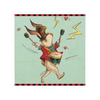 Music Maker! Rabbit set Wood Canvases