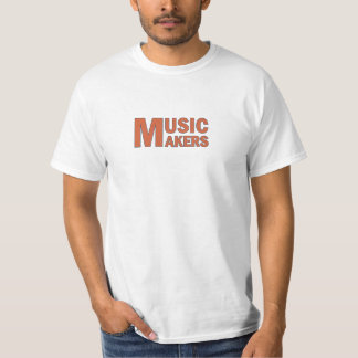 Music makers orange color T-Shirt