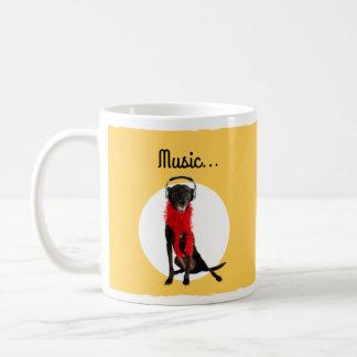 Music Makes My Heart Bark Mug