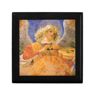 Music Making Angel by Forli Trinket Box