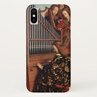 MUSIC MAKING CHRISTMAS ANGELS /Organ Player iPhone X Case