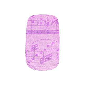Music Manicure Fingernail Decals