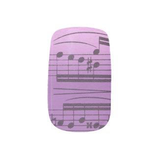 Music Manicure Nail Sticker