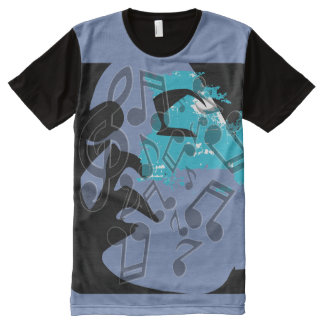 Music Meditation (Soul Searching) All-Over-Print T-Shirt
