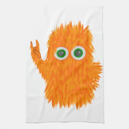 Music Monster Hand Towels