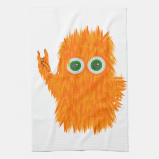 Music Monster Kitchen Towel