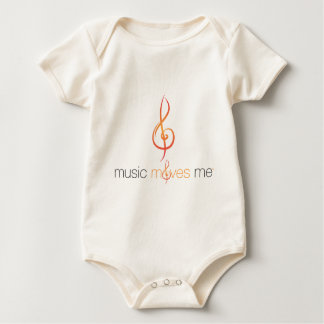 Music Moves Me™ Organic Infant Creeper
