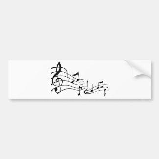 Music (Music) Bumper Sticker