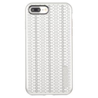 Music Nordic Knit Text ASCII Art Black and White Incipio DualPro Shine iPhone 8 Plus/7 Plus Case