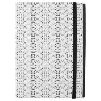 "Music Nordic Knit Text ASCII Art Black and White iPad Pro 12.9"" Case"