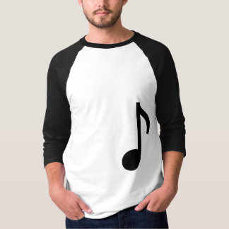 Music Note 3/4 length shirt