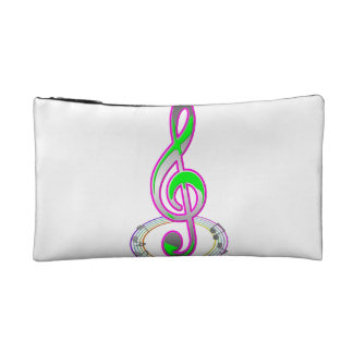 Music Note Cosmetic Bags